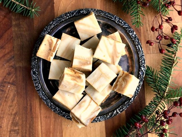 White Chocolate Gingerbread Fudge Recipe Crosby S Molasses