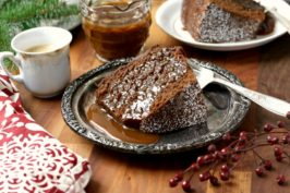 Chocolate gingerbread bundt cake is a beautifully spiced Holiday cake meant for sharing.
