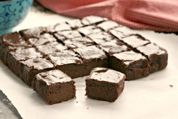 Sweet potato brownies are gluten free, refined sugar free and paleo.