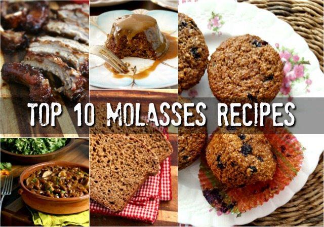 Top 10 molasses recipes of 2017