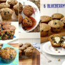 6 blueberry muffin recipes