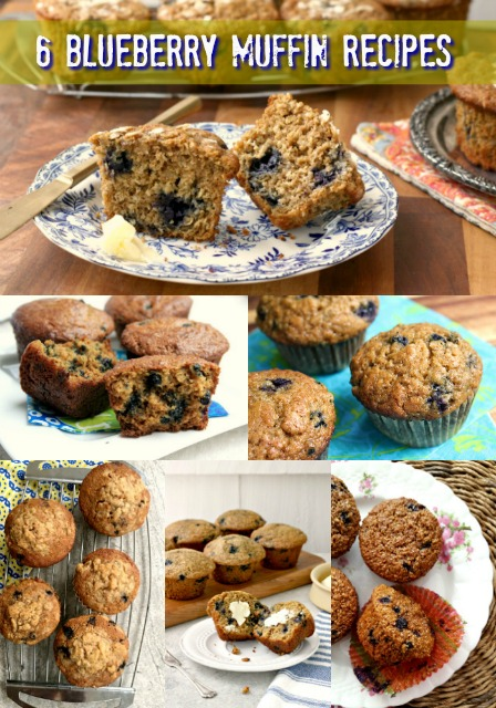 Best blueberry muffins recipes