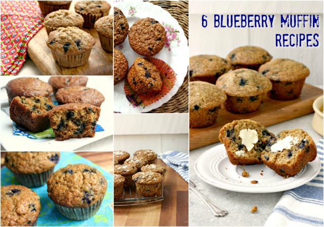 Best blueberry muffin recipes