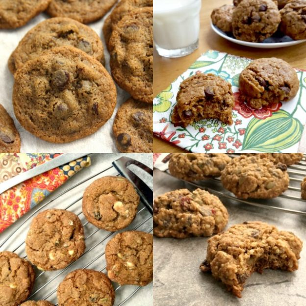 A dozen chocolate chip cookie recipes