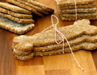 Homemade Cornmeal Molasses Dog Treats