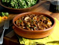 baked beans with sausage 3sm