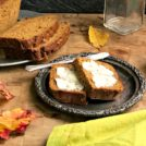 Pumpkin Banana Bread recipe: combines all that I love about pumpkin and banana bread. It is lightly spiced, not too sweet, and has the loveliest texture.