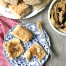 cheddar biscuits with whipped molasses butter