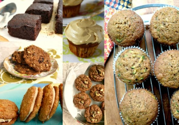 Baking with vegetables: 10 wholesome recipes using carrots, beets, zucchini and more.