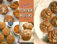 Three favourite pumpkin muffin recipes, all refined sugar free