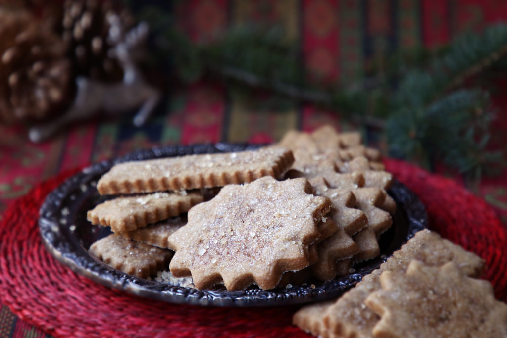 Ginger shortbread with molasses: If you like soft, buttery shortbread, you'll love our festive version for Christmas. These cookies aren't fussy, but the molasses and spices give them an unmistakable holiday flair.