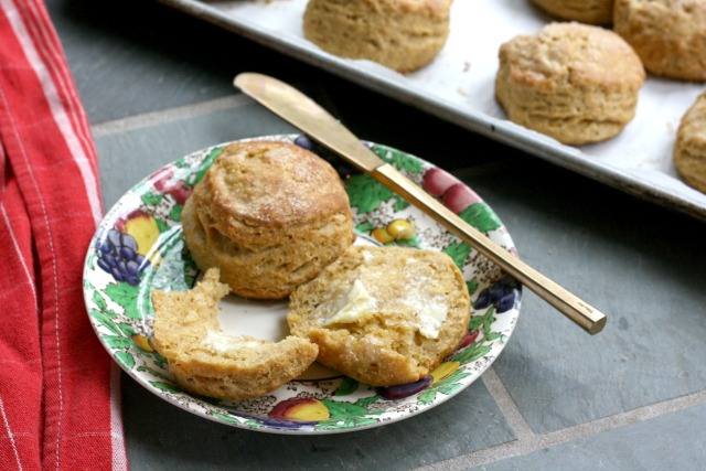 Sweet cornmeal biscuits - the most versatile bread. Serve them alongside supper, or hot with butter and molasses, or as the base of your fruit shortcake.