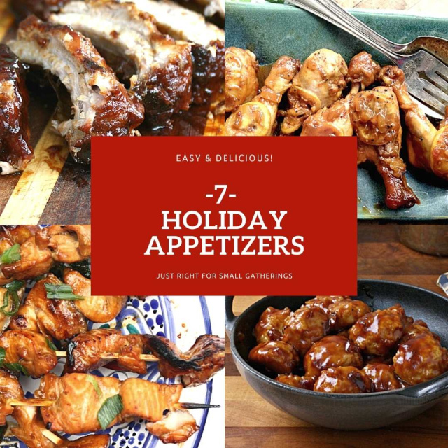 7 Easy Holiday Appetizers for Small Gatherings