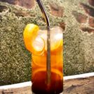 This refreshing, non-alcoholic cocktail is a play on the classic Dark and Stormy. Using molasses and bitters to replicate dark rum aromatics and the season's favorite citrus, clementine's. It's mild, sweet and bitter contrast is sure to suit the classiest of occasions.