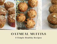 8 healthy oatmeal muffin recipes
