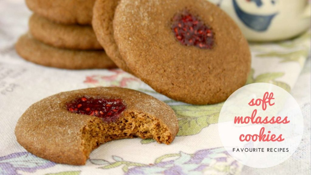 6 favourite soft molasses cookies
