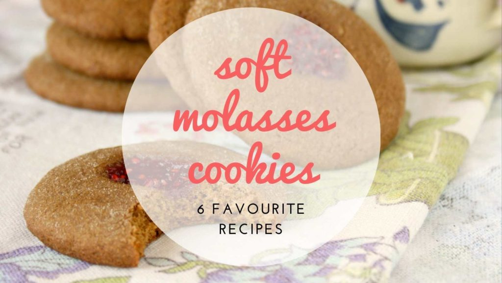 favourite soft molasses cookie recipes