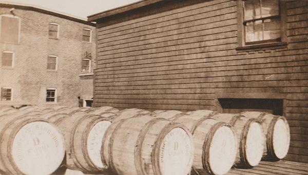 Crosbys molasses barrels