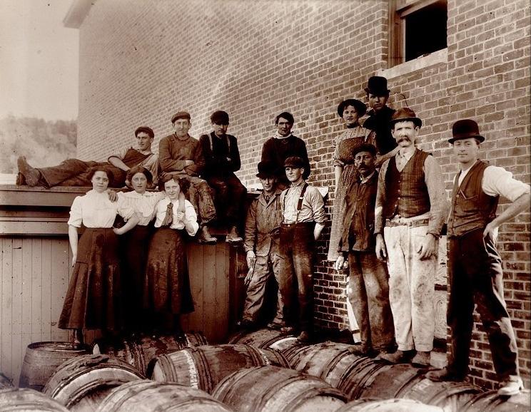 Crosby's employees, November 1911.